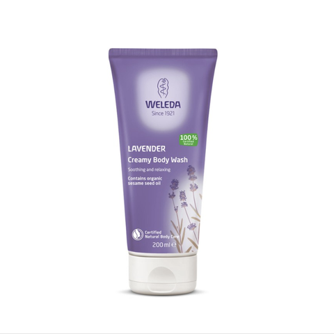 Weleda - Creamy Body Wash - Lavender (200ml)