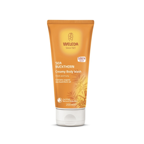 Weleda - Creamy Body Wash - Sea Buckthorn (200ml)