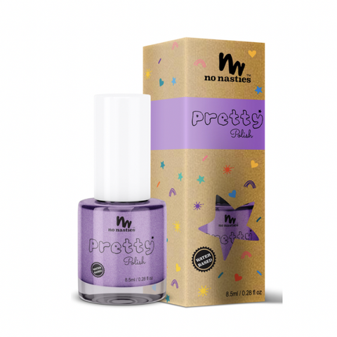 No Nasties - Pretty Polish Water-Based Peelable Nail Polish - Purple (8.5ml)