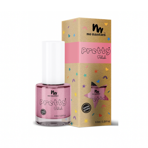 No Nasties - Pretty Polish Water-Based Peelable Nail Polish - Pink (8.5ml)