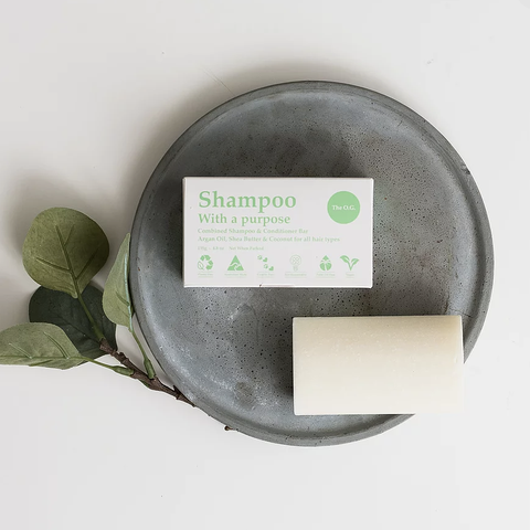 Shampoo With A Purpose - Shampoo and Conditioner Bar - The O.G. For All Hair Types (135g)