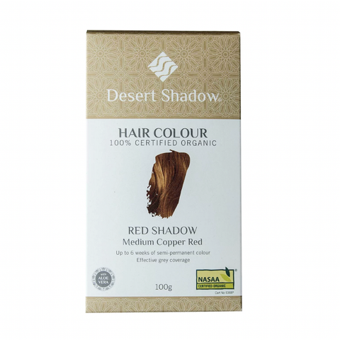 Desert Shadow Organic Hair Colour - Red Shadow