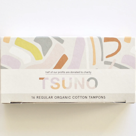 Tsuno - Organic Cotton Tampons - Regular (16 pack)