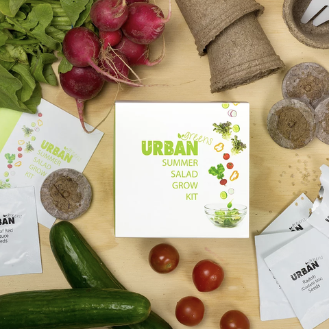 Urban Greens - Grow Kit - Summer Salad