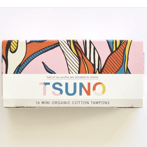 Tsuno - Organic Cotton Tampons - Mini (16 pack)
