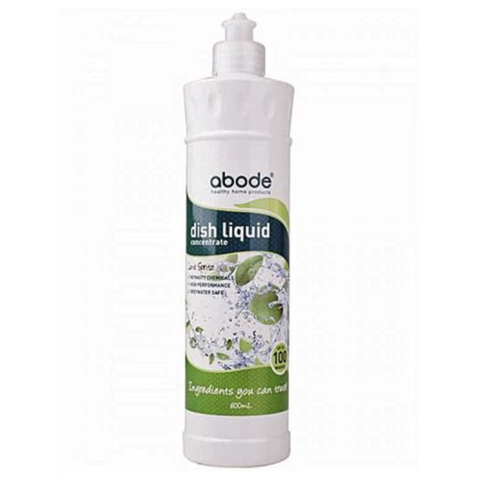 Abode - Natural Dishwashing Liquid - Lime Spritz (600ml)