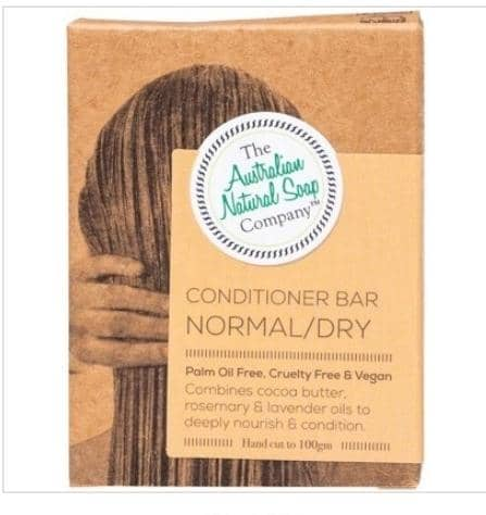 The Australian Natural Soap Company - Normal/Dry Conditioner Bar (100g)