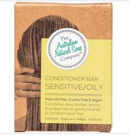 The Australian Natural Soap Company - Sensitive/Oily Conditioner Bar (100g)