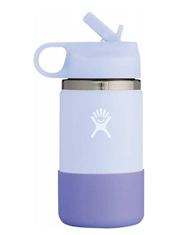Hydro Flask - Double Insulated Wide Mouth Kids Bottle with Straw Lid - Fog (354ml)
