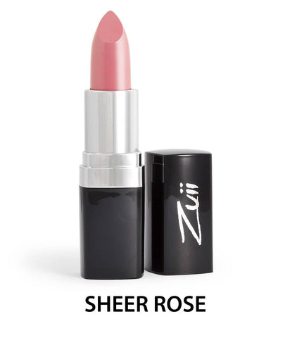 Zuii Organic - Flora Lipstick - Sheer Rose Sample