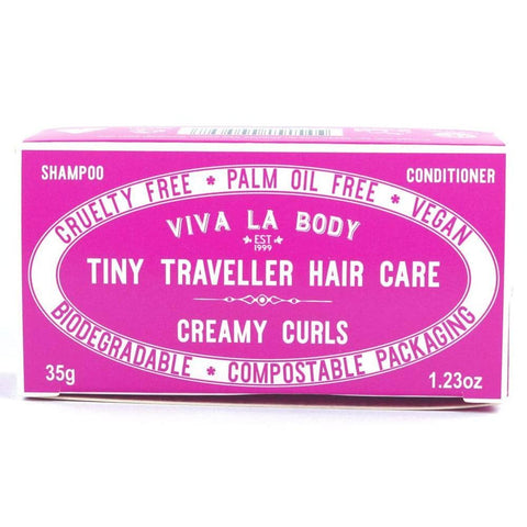 Viva La Body - Tiny Traveller Shampoo and Conditioner - Creamy Curls (35g)