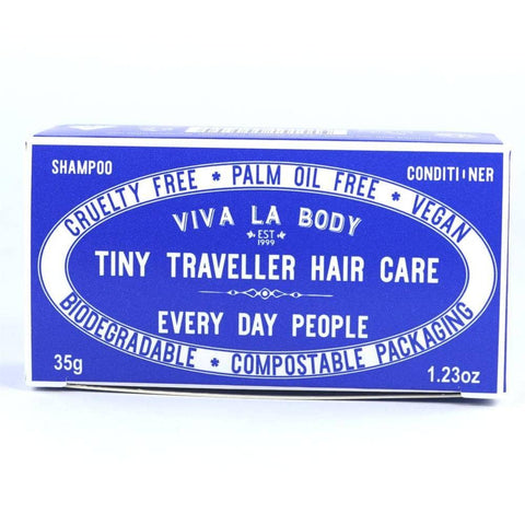 Viva La Body - Tiny Traveller Shampoo and Conditioner - Every Day People (35g)