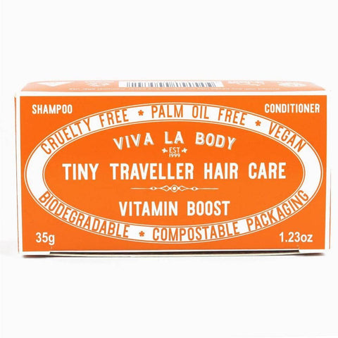 Viva La Body - Tiny Traveller Shampoo and Conditioner - Vitamin Boost (35g)