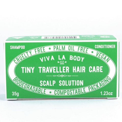 Viva La Body - Tiny Traveller Shampoo and Conditioner - Scalp Solution (35g)
