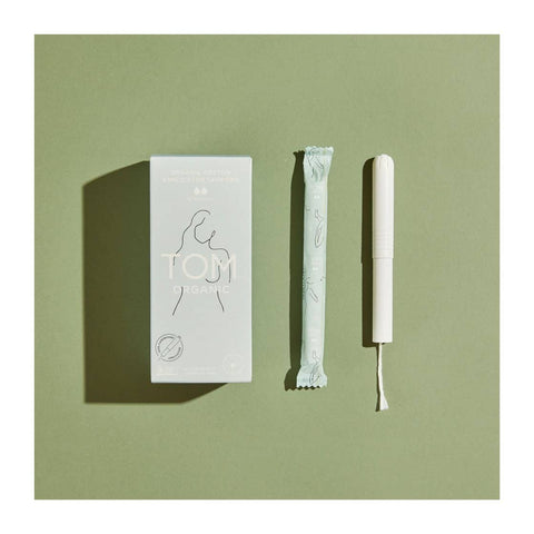 TOM Organic - Organic Cotton Tampons - Regular with Applicator (16 pack)