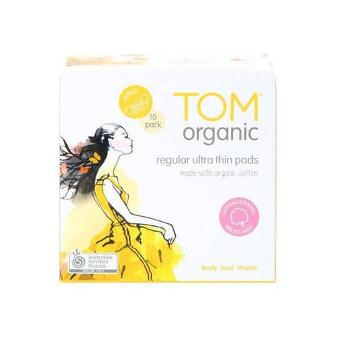TOM Organic - Organic Cotton Pads - Regular (10 Pack)