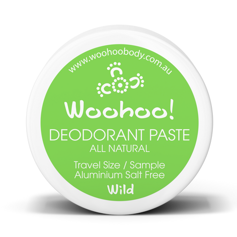 Woohoo Body - Deodorant Paste - Wild (Trial Size 10g)