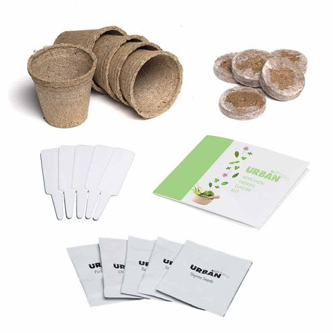 Urban Greens -  Grow Kit - Kitchen Herbs