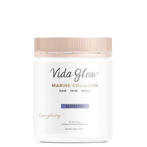 Vida Glow - Marine Collagen - Blueberry (90g)