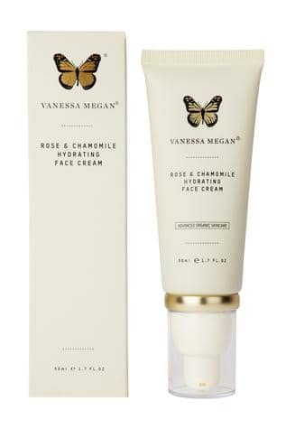 Vanessa Megan - Rose and Camomile Hydrating Face Cream 50ml