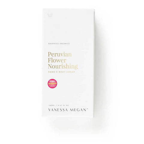 Vanessa Megan - Peruvian Flower Hand and Body Cream  (50ml)