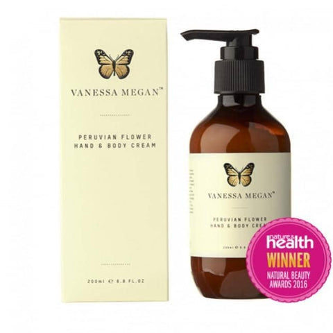 Vanessa Megan - Peruvian Flower Hand and Body Cream
