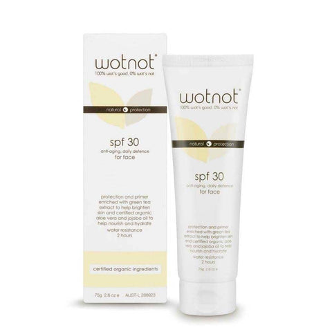 Wot Not - Anti-Aging Facial Sunscreen SPF 30 75g