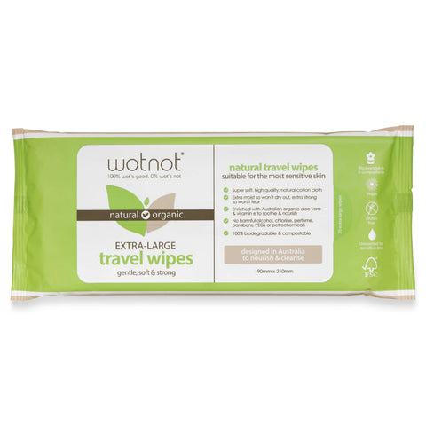 Wotnot - Biodegradable Wipes (20 pack refill)
