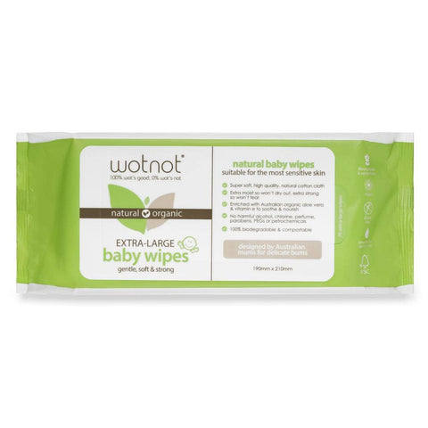 Wotnot - Biodegradable Wipes (70 pack)