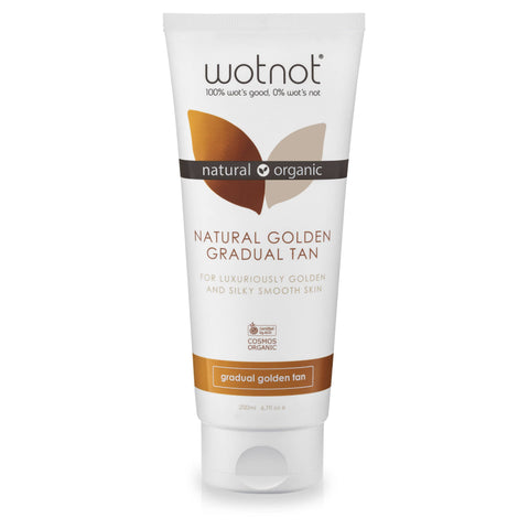 Wotnot - Gradual Tanning Lotion - Gradual Golden Tan (200ml)