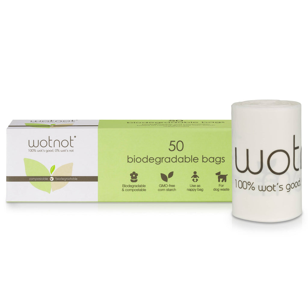Wotnot - Biodegradable Nappy Bags - 50 pack