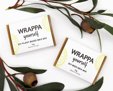 WRAPPA - DIY Wax Mix - Plant-Based Wax (Makes 6-10 Wraps)