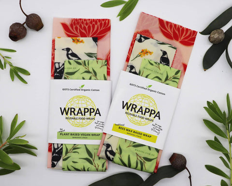 WRAPPA - Plant-Based Wraps - Waratah (3 Pack)