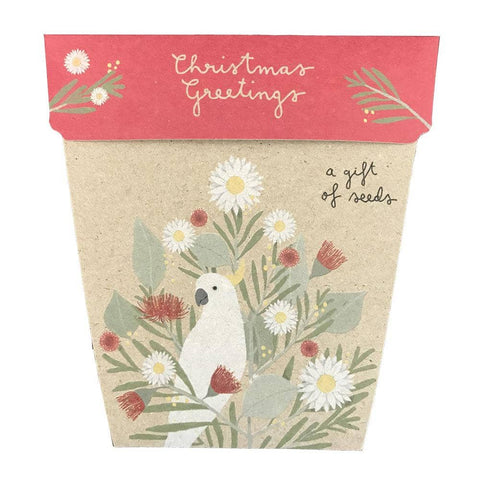 Sow 'n Sow - A Gift Of Seeds - Christmas Greetings