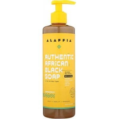 Alaffia - African Black Soap All-in-One - Peppermint (476ml)