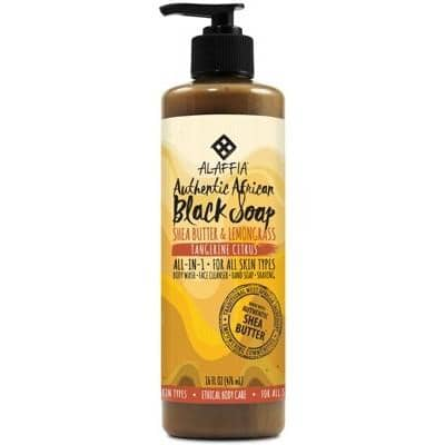 Alaffia - African Black Soap All-in-One - Tangerine Citrus (476ml)