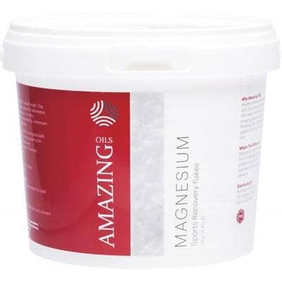 Amazing Oils - Magnesium Bath Flakes - Recovery (2 Kg)