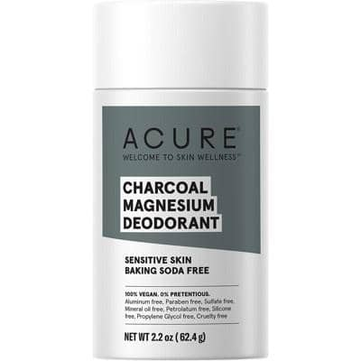 ACURE - Bicarb Free Deodorant Stick - Charcoal Magnesium (63g)