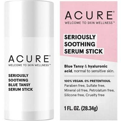 ACURE - Seriously Soothing Blue Tansy Serum Stick (28g)