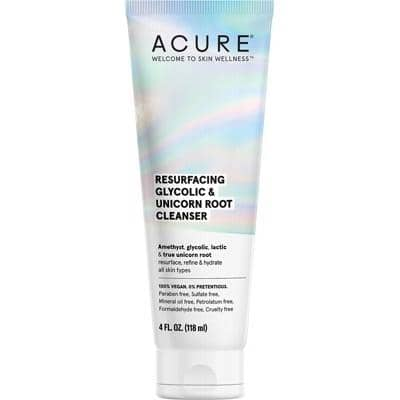 ACURE - Resurfacing Glycolic and Unicorn Root Cleanser (118ml)