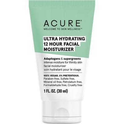 ACURE - Ultra Hydrating 12 Hour Facial Moisturiser (30ml)
