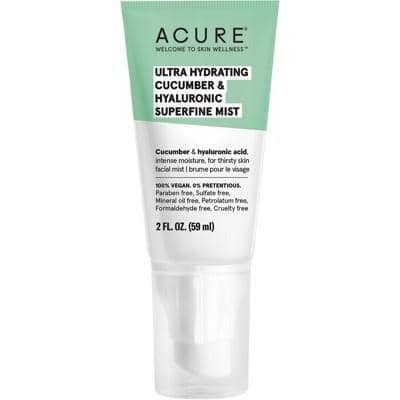 ACURE - Ultra-Hydrating Cucumber and Hyaluronic Superfine Mist (59ml)