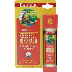 Badger - Aromatherapy Stick - Cheerful Mind Balm (17g)