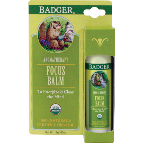 Badger - Aromatherapy Stick - Focus Balm (17g)