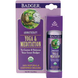 Badger - Aromatherapy Stick - Yoga and Meditation Balm (17g)