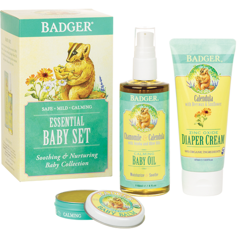 Badger Baby Essentials - Gift Pack