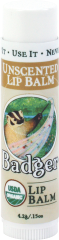 Badger - Classic Unscented Lip Balm  (4.2g)