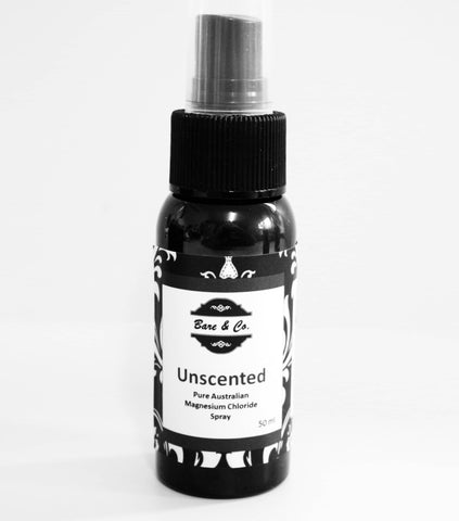 Bare & Co. - Organic Magnesium Spray - Unscented (50ml)