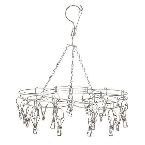 Bare & Co - 201 Grade Stainless Steel Peg Hanger (20 pegs)