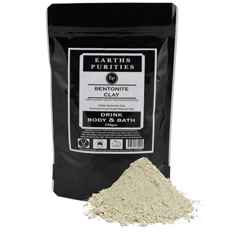 Earths Purities - Bentonite Clay Drink, Body and Bath 250g